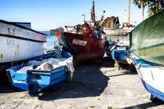Camara de Lobos  is a fishing village is near the city of Funchal Royalty Free Stock Image