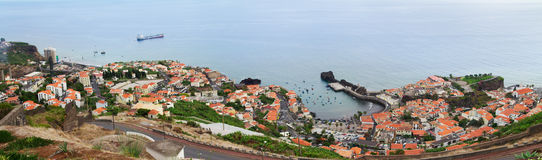 Camara de Lobos harbour, Madeira Stock Photography