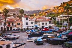 Camara de Lobos, isla de Madeira, Portugal Foto de archivo libre de regalías