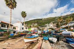 Camara de Lobos, Madeira, Portugal Imagen de archivo