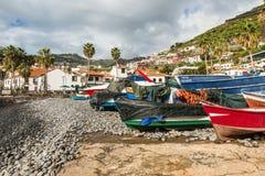 Camara de Lobos, Madeira, Portugal Foto de archivo libre de regalías