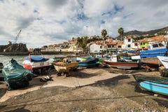 Camara de Lobos, Madeira, Portugal Imagen de archivo libre de regalías