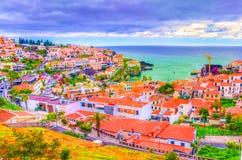 Camara de Lobos, Madeira, Portugal Imagenes de archivo