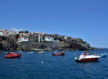Camara de Lobos, Madeira Stock Photo