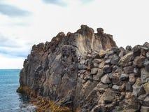 Camara de Lobos, Madera Dragon Head Rock immagini stock
