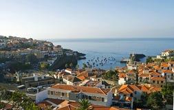 Camara De Lobos, madery wyspa, Portugalia obraz royalty free