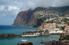 Camara de Lobos na ilha de Madeira Foto de Stock Royalty Free
