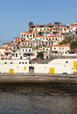 Camara de Lobos - paesino di pescatori tradizionale, situato cinque chilometri da Funchal sul Madera Fotografia Stock