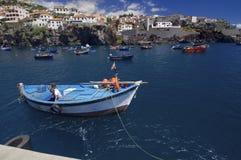 Porto de pesca Fotografia de Stock