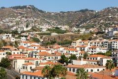Camara de Lobos - pueblo pesquero tradicional, situado cinco kilómetros de Funchal en Madeira Fotografía de archivo