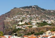 Camara de Lobos - pueblo pesquero tradicional, situado cinco kilómetros de Funchal en Madeira Imagen de archivo