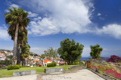 Camara de Lobos resort Stock Photo