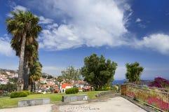 Camara de Lobos resort. Madeira island, Portugal Stock Photo