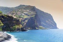 Camara de Lobos resort. Madeira island, Portugal Stock Photography