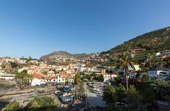 Camara de Lobos - traditional fishing village, situated five kilometres from Funchal on Madeira Royalty Free Stock Image