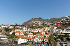 Camara de Lobos - traditional fishing village, situated five kilometres from Funchal on Madeira. Royalty Free Stock Photo