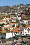 Camara de Lobos - traditional fishing village, situated five kilometres from Funchal on Madeira. Stock Image