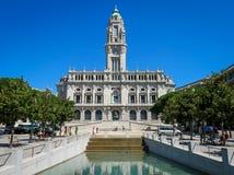 Camara Municipal fa Oporto Immagine Stock Libera da Diritti