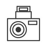 Camara party icon design image Royalty Free Stock Images