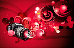 Camara vector illustration Royalty Free Stock Images