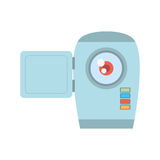 Camara video related icon. Image,  illustration Royalty Free Stock Photos