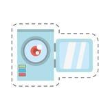 Camara video related icon. Image,  illustration Stock Photos