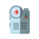 Camara video related icon. Image,  illustration Stock Image