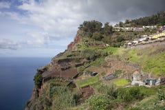 Camaraa de罗伯斯,马德拉岛,葡萄牙 免版税图库摄影
