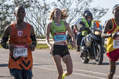 Camarada Marathon Suráfrica Foto de archivo