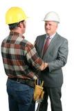 Camaraderie au travail 1 Images stock