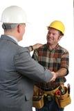 Camaraderie au travail 2 Photo libre de droits