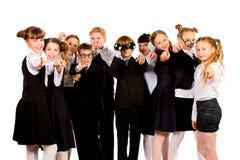 Camarades de classe Photo libre de droits