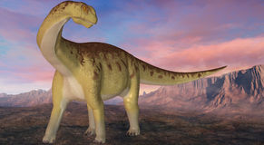 Camarasaurus-3D Dinosaur Royalty Free Stock Photography