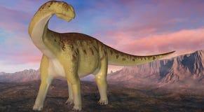 Camarasaurus-3D Dinosaur Royalty Free Stock Photography