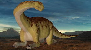 Camarasaurus-3D Dinosaur Stock Photo