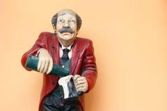 Camarero de la estatua Imagen de archivo libre de regalías