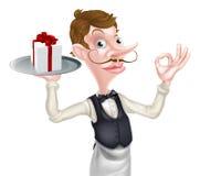 Camarero Perfect Sign del regalo Imágenes de archivo libres de regalías