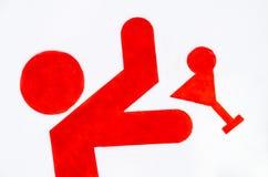 Camarero Sign Fotos de archivo libres de regalías
