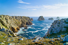 Camaret crozon in brittany Royalty Free Stock Image