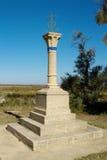 Camargue十字架, Saintes Maries de la梅尔,法国 库存照片