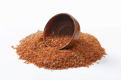 Camargue red rice Stock Photos