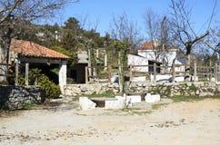 Camarillas-Brunnen und -sumpf Stockbilder