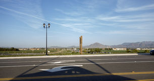 Camarillo北边,加州 免版税库存图片