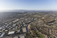 Camarillo Industrial Park and Homes Ventura County California Aerial royalty free stock photos