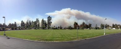 Camarillo wiosen ogień, CA Obraz Royalty Free