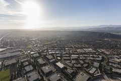 Camarilloindustrieterrein Ventura County California Aerial Stock Foto