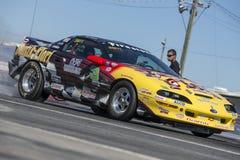 Camaro in action Stock Photo