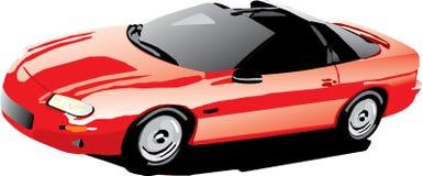 Camaro auf dem Lack-Läufer Stockfoto