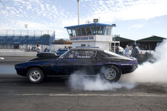 Camaro burn out Royalty Free Stock Photography