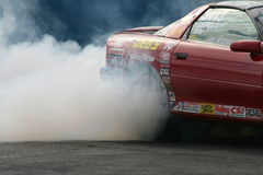 Camaro Burnout Royalty Free Stock Image